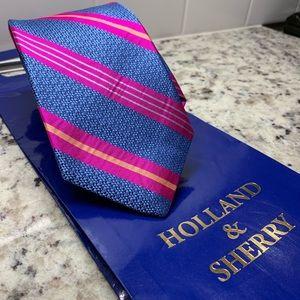 Brand New Holland & Sherry necktie, made in USA
